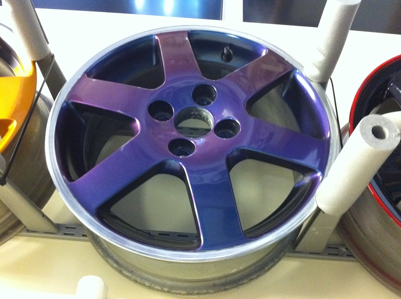 Mag Blue Wheel Paint