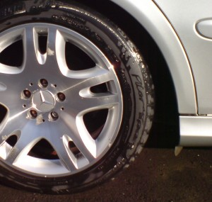 Diamond Turned Alloy Wheel