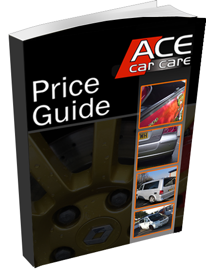 Ace Car Care Price Guide