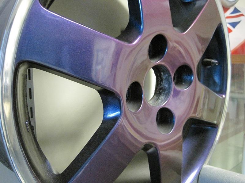 alloy wheel colour changes