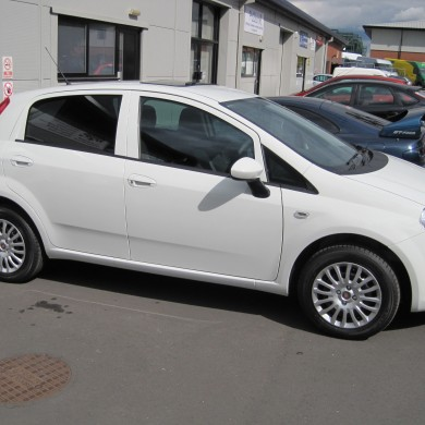 Fiat Punto Window Tints