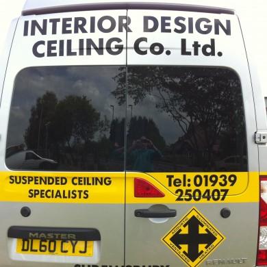Renault Van Rear Window Tints