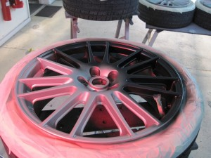 Alloy Wheel Colour Change