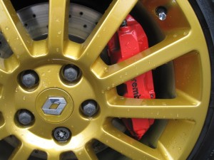 Brake Caliper Painting Service | On Gold Alloy Wjeels