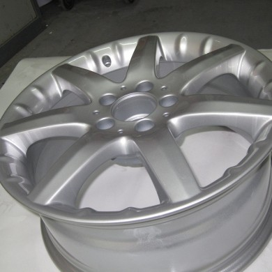 Alloy Wheel Refurbishment Shropshire Mercedes