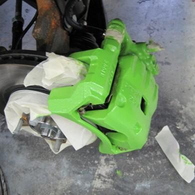Caliper Painting Green