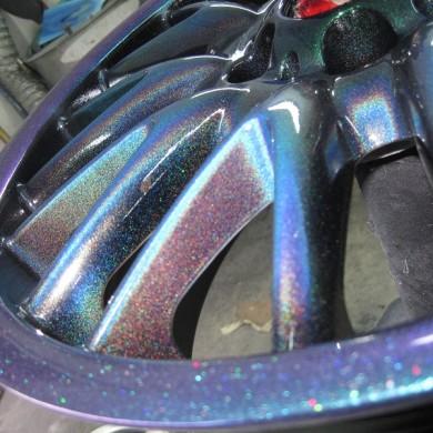 Custom BMW Alloy Wheel