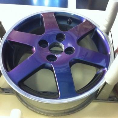 Flip Colour Alloy Wheel