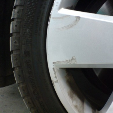 Minor Alloy Wheel Repairs