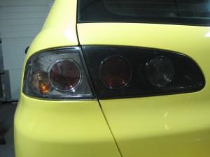 Chrome Tinted Rear Lights