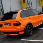 BMW X5 Vinyl Car Wrap